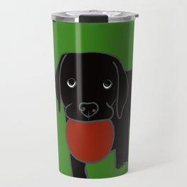 Black Lab Puppy Travel Mug