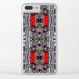 Inogashia eno gashia Clear iPhone Case