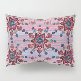 Old Rose Sherpa Blue Pillow Sham
