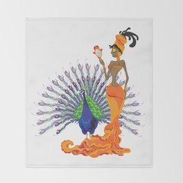 Oshun Throw Blanket