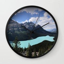 Peyto Lake Overlook Wall Clock