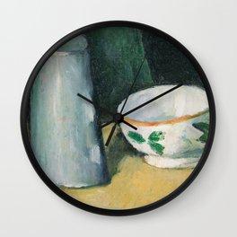 Bowl and Milk-Jug Wall Clock