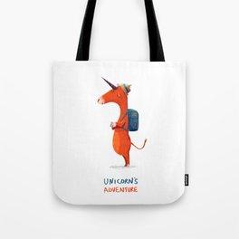 Unicorn's adventure Tote Bag