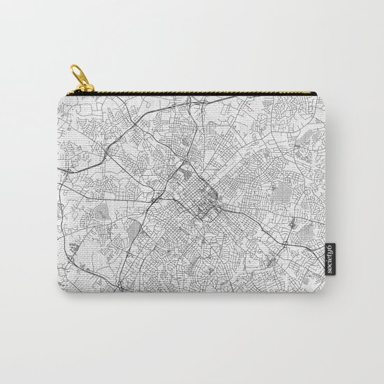 Charlotte Map Line Carry-All Pouch