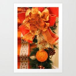 Festive Decorations Art Print
