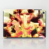 ganesh iPad Cases featuring Ganesh by nuzzocozzamara