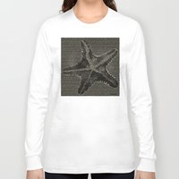 starfish Long Sleeve T-shirts featuring STARFISH by Mary Szulc