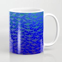 Sharks In Deep Water. Coffee Mug