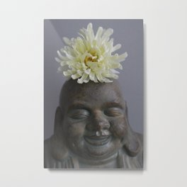 Joy Of Buddha Metal Print
