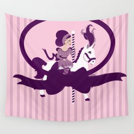 carroussel 2 Wall Tapestry