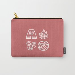 Bending All Four Elements – Fire Carry-All Pouch