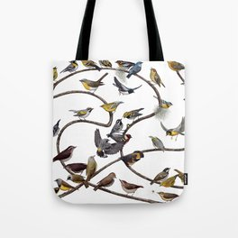 Warblers of New England Tote Bag