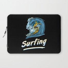 Surfing Laptop Sleeve
