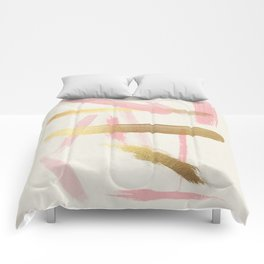 Disorder (Rose + Gold) Comforters