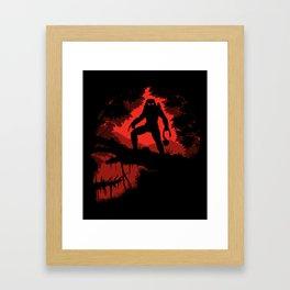 Jungle Hunter Framed Art Print