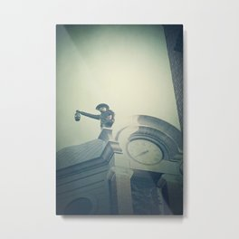 The Night Watchman Metal Print