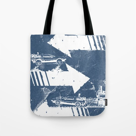 Back to the Future Minimalist Poster Tote Bag