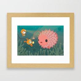 The Octonauts Pufferfish Framed Art Print