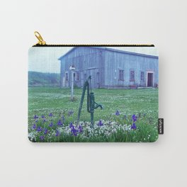 Vintage Barn Scene Carry-All Pouch