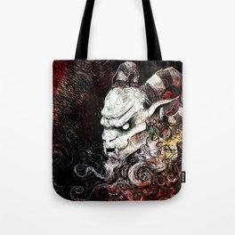 Krampus Grunge Tote Bag