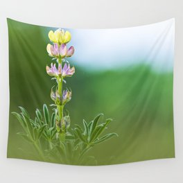 Wild lupine flower Wall Tapestry