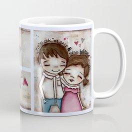 She Believed Him - by Diane Duda Coffee Mug