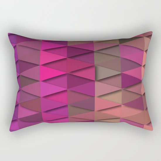 Purple Party Rectangular Pillow