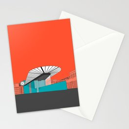 Turquoise Island Stationery Cards