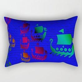 Phoenician navy force Rectangular Pillow
