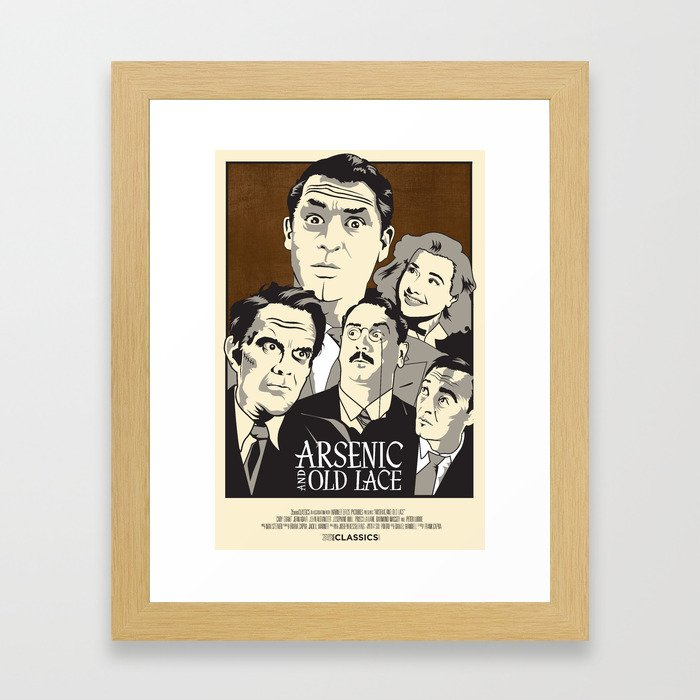 Arsenic and Old Lace Framed Art Print