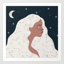 keeper of stars Art Print