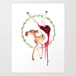 Casualty Art Print