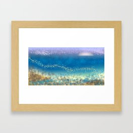 Abstract Seascape 03 wc Framed Art Print