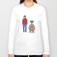 et Long Sleeve T-shirts featuring ET - Elliot and ET by V.L4B