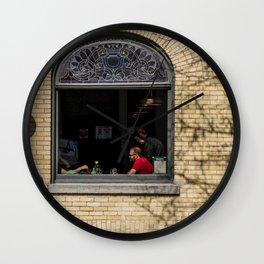 Dog by Kyle Van Alstyne Wall Clock
