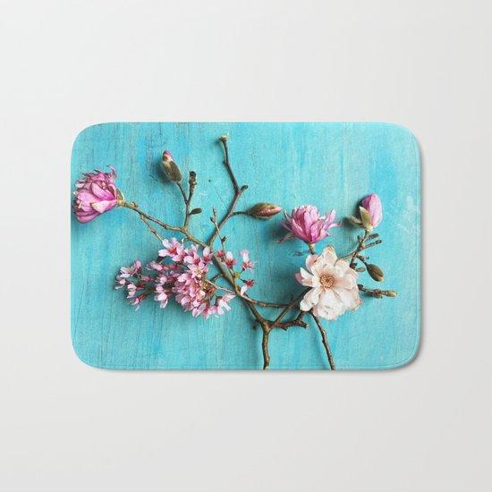 Flowers of Spring Bath Mat