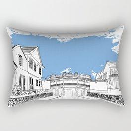 Hoi An street Rectangular Pillow