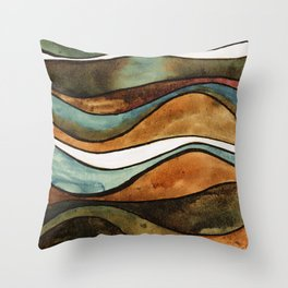 The Moon II Throw Pillow