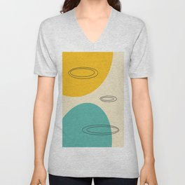 Around the Planets #2 Unisex V-Neck