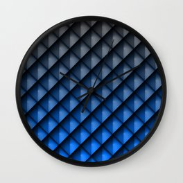 Draco Blue Wall Clock