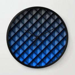 Draco Blue Wall Clock