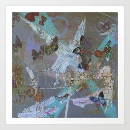 cloisters Art Print