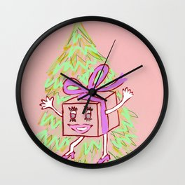 Happy Gift Wall Clock