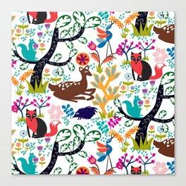 Forest Fairytale Canvas Print