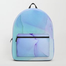 Breath fluid ink abstract painting Backpack