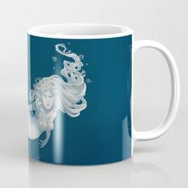 Elegant Sea Snake Mermaid Mug