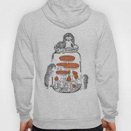 Hedgehog Amanita Mushroom Hoody