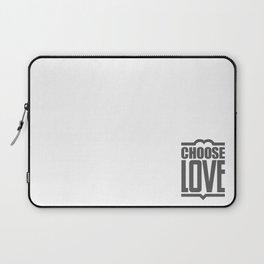 Choose Love Typography Laptop Sleeve