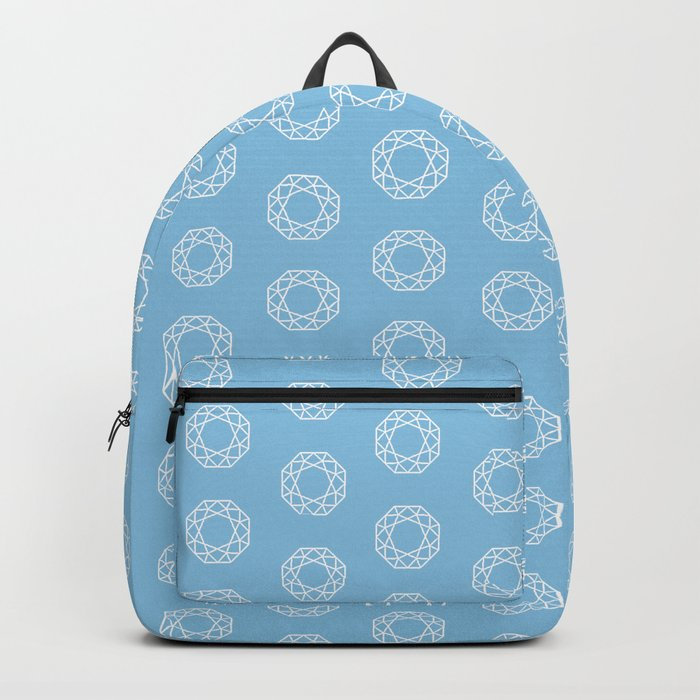 Happy Octagon Gems Backpack