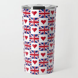 Flag of UK 15- London,united kingdom,england,english,british,great britain,Glasgow,scotland,wales Travel Mug
